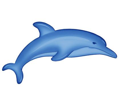Delfin clipart imagui - Dauphin dessin couleur ...